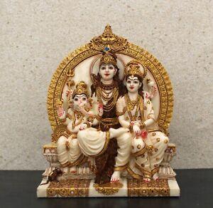 Lord Shiva family statue figurine # Lord Shiva # Maa Parvati # Lord Ganesha