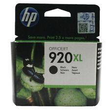 HP 920XL Black CD975AE Genuine Original Ink Cartridge 6000 6500 7000 7500a A e