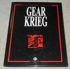 Gear Krieg Alternative Heavy Armor Miniatures combat game Main Rules Dream Pod 9