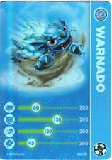 Lightcore Warnado Skylanders Swap Force Stat Card Only!