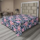 Ambesonne Victorian Art Flat Sheet Top Sheet Decorative Bedding 6 Sizes