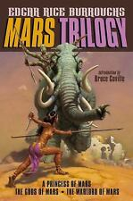 Mars Trilogy: A Princess of Mars; The Gods of Mars; The Warlord of Mars: By B...
