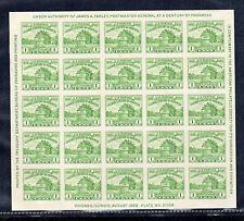 US # 730 (1933) 1c - MNGAI - VF - Chicago {Century of Progress} Souvenir Sheet