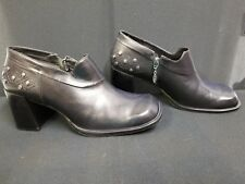 Harley Davidson, Women's Zipper Side, High Heel Shoes. Size 9. Preowned.