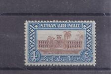 SUDAN-1950-AIR MAIL-4 PIASTRE-SG 119-MINT HINGE REMNANT-$4-freepost