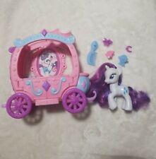 My Little Pony FiM G4 Rarity's Royal Gem Carriage MLP Hasbro Rarity accessories