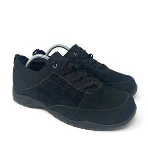 Barefoot Freedom Lisbon Leather Walking Shoes Womens Size 12 W Black Comfort