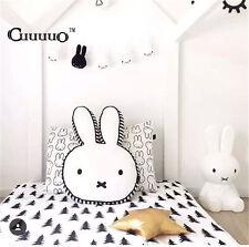 Nordic Kid Room PillowCute Cushion Brand Rabbit Decoration Pattern Cotton Plush