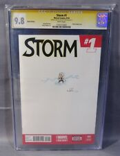 STORM #1 (My Little Pony Original Art Sketch by Katie Cook) CGC 9.8 Marvel 2014