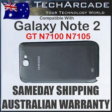 Samsung Galaxy Note 2 GT N7100 N7105 Back Rear Housing Battery Cover Case Grey