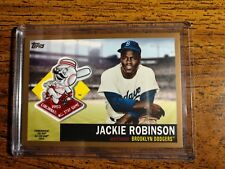 Jackie Robinson 2018 Topps All-Star Patches GOLD 36/50. Dodgers
