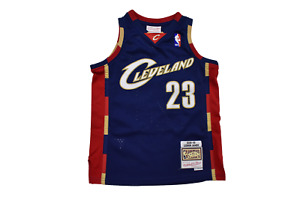 Mitchell & Ness Youth Boys NBA Cleveland Cavaliers Lebron James Jersey NWT S