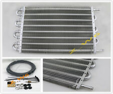 UNIVERSAL 8 ROW CAR TRUCK TRANS ALUMINUM ENGINE/ TRANSMISSION RACING OIL COOLER
