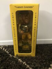 Anthony Carter #1 Michigan Wolverines Bobblehead Autograph On The Backside