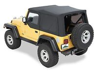 Jeep Wrangler Replacement Soft Top TJ 1996-06 Black TINTED, In-stock AUS