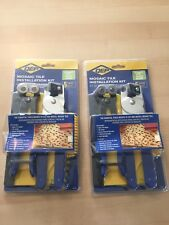 2Pk QEP Mosaic Tile 5-Tool Installation Kit (Nipper+Cutter+3 Spreaders) #78225Q