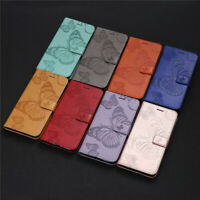 Butterfly Wallet Leather Flip Case Cover For Xiaomi Redmi Note 9S Note 9 Note 8