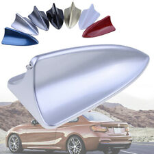 NEW Universal Silver Car Dummy Shark Fin Roof Mount Decorative Aerial Antenna