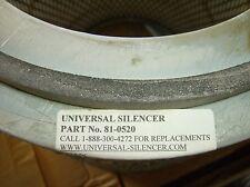 universal silencer air filter intake filter 81-0520 new in box