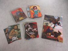 Lot of Marvel Masterpieces Trading Cards ~ 43 Foil Cards Total ~ Near Mint