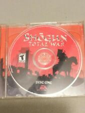 Shogun Total War Original PC Game CD  Electronic Arts Retro Rare No Box