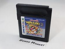 WARIO LAND 2 II NINTENDO GAME BOY COLOR GBC JP JAP GIAPPONESE ORIGINALE DMG-WJA