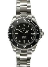 MWC 24 JEWEL Automatic Military Divers Watch With Sapphire Crystal and 2 Bands