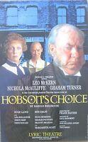 Hobson's Choice, Lyric Theatre, 1995, Original 12.5 x 20 Inch Poster
