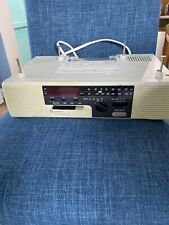New listing Ge Spacemaker Undercabinet Cd Radio 7-4285A Tested and Working
