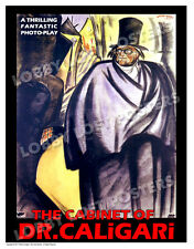 THE CABINET OF DR. CALIGARI LOBBY CARD POSTER OS/GER 1920 WERNER KRAUSS
