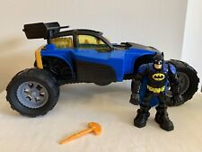 Fisher Price Hero World DC Transforming Batmobile Car with Batman Figure