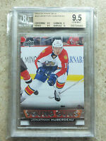 13-14 UD Serie 1 RC Rookie Young Guns #222 Graded BGS 9.5 JONATHAN HUBERDEAU