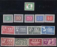1945 Sc 293/305,set,peace,..MNH        h741
