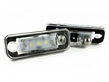 MERCEDES W203 W211 W219 R171 NUMMERNSCHILD KENNZEICHENBELEUCHTUNG 2x 3 LED 2.8W