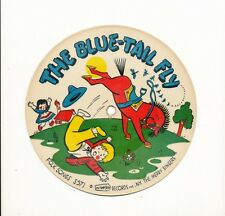 14pc78-childrens-Folk Songs Picturtone 571/572-Blue Tail Fly/Funicu-PICTURE DISC