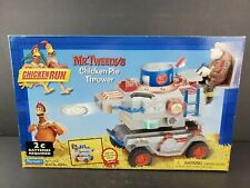 Chicken Run Mr. Tweedy's Chicken Pie Thrower 2000 Playmates Action Figure New