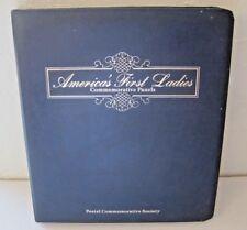 America's First Ladies (Washington - Reagan) Postal Commemorative Album 1987-88