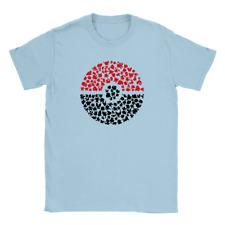 Pokemon Ball Mens T-Shirt Cool Graphic Gift Present Top