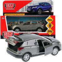 Diecast Metal Model Car Nissan Qashqai Gray Toy Die-cast Cars