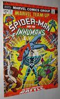 MARVEL TEAMP UP #11 SPIDER-MAN INHUMANS  NM 9.2