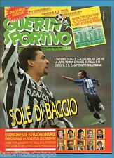 GUERIN SPORTIVO-1993 n.17- BAGGIO-SOSA-ZENGA -NO FILM