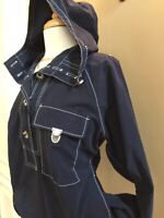 Vintage Tommy Hilfiger Casual Women's Hooded All-Weather Sailing Jacket. Size: M