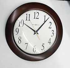 "HOWARD MILLER WALL CLOCK -CORPORATE WALL 625-214 -  12.75""  ROUND 625214"