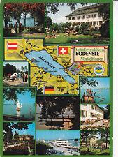Bodensee Various Views Germany Postcard used vgc