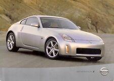 Nissan 350Z Coupe 2002 UK Market Preview Leaflet Sales Brochure