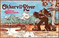 OKKERVIL RIVER The Silver Gymnasium 2013 Ltd Ed Poster +FREE Indie/Folk Poster!