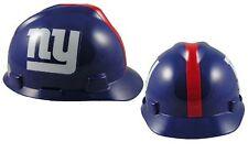 MSA V-Gard Cap Type New York Giants NFL Hard Hat Pin Type Suspension