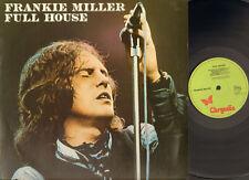 FRANKIE MILLER 1977 LP FULL HOUSE Chris Spedding Gary Brooker MEMPHIS HORNS
