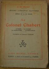 Le Colonel Chabert H. De Balzac 1927 Albin Michel