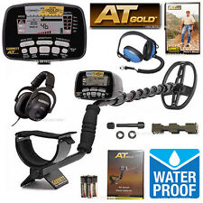 NEW GARRETT AT GOLD Metal Detector With MS-2 LAND + DIVING HEADPHONES